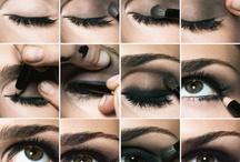 Polished Lips, Cheeks and Eyes / A little polish goes a long way.