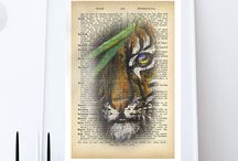 dictionary art prints / dictionary art, dictionary prints, dictionary pages, vintage dictionary art prints
