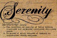 Serenity Tattoo Ideas