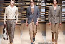 Salvatore Ferragamo uomo / Salvatore Ferragamo collezione e catalogo primavera estate e autunno inverno abiti abbigliamento accessori scarpe borse sfilata uomo.