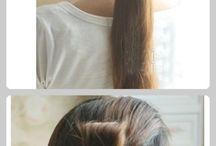 Flower hair!!