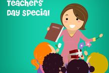 Teachers' Day / Teachers' Day is intended to be special days for the appreciation of teachers, and includes celebrations to honour them for their special contributions in a particular field area, or the community in general.