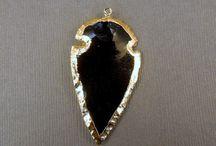 Arrowhead pendants / Variety of arrowhead pendants at jewelersparadise.etsy.com