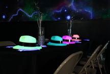 glow themed mitzvah at stratum laser tag so many amazing and glowing ideas perfect for