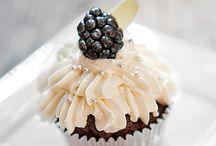 Esküvői cupcake - Wedding cupcake