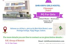 pg for girls in indore / We offer you the warm, cozy, safe and comfortable place to live.