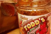 Todd's Salsa 'at work' / Fan submitted photos enjoying our great salsas.