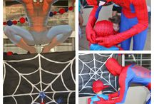 Bradley's Spider-Man party
