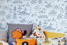 W is for Wall Coverings / Wallpaper, Paint and Wall stickers, perfect for any child's room