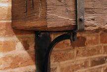 Barn beams mantles