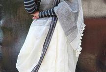 Linens sarees