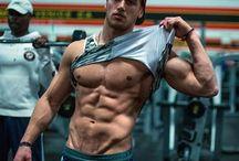 Muscular boy.