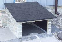 Plæneklipper garage