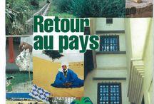 Algerie / Collage papiers & textile