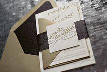 Colour: Black + Gold wedding