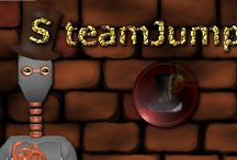 SteamJumper / SteamJumper is a 3D steampunk platformer for Adroid. Its easy to learn but hard to master nature makes the game very addicting, as it's way harder than one might think at first. The look, which is inspired by steampunk, also helps the game stand out and be more unique.