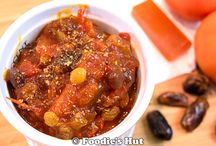 Chutney and Pickle / Bengali Chutney and Pickle recipe