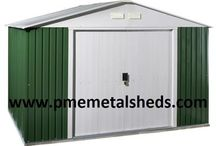 Pent Roof Metal Sheds 4 x 8 ft Easy Assembly Metal Buildings pmemetalsheds / PME 4' x 8' Pent Roof Metal Sheds Metal Sheds, Garden Sheds, Steel Sheds, Apex Roof Metal Sheds, Pent Roof Metal Sheds, Outdoor Storage, Garden Steel Building Size: Depth 4 ft x Width 8 ft x Height 6 ft Dimensions: Depth 1315 mm x Width 2380 mm x Height 1810 mm Shanghai Passion Machinery Equipment Co., Ltd. www.pmemetalsheds.com