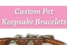 Custom Pet Keepsake Bracelets