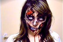 Halloween Make-up Ideas - Kat Sketch Videos