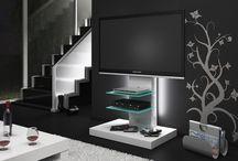 Marino WHite Gloss TV Stands / High gloss tv stand