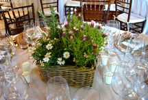 Eventi aziendali - Business events / Allestimenti floreali per eventi aziendali. Floral arrangements for business events.