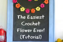 Crochet Flowers / Inspiration for a range of crochet flowers