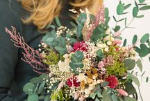 Preserved boho flower bouquets