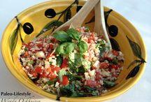 Paleo salade / Heerlijke salades gebaseerd op het Paleoprincipe.