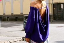 Abbigliamento / Maglia blu