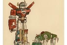 Voltron/Transformers