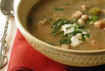 Yum! Soup / Love me a delicious soup in the Fall and Winter... recipes to inspire your keep-me-warm-and-snuggly meals :)  / by Ruthie {cookingwithruthie.com}