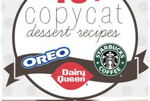 Favorite Copy Cat Recipes / by Caitlin Cone