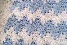 Pletené deky pre bábätká