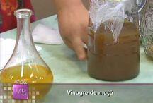 receita de vinagre