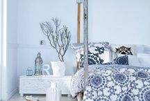 Blue Blues interiors