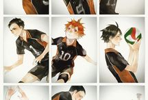 Haikyuu!! sets of images