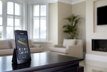 The smarter phone for your home  / The new KX-PRX120 'smartphone style' digital cordless phone features Wi-Fi / Bluetooth interface  and runs on Android, so you can download Apps, access social networks and share photos with family and friends.   Packed full of features, it includes an intuitive touch screen, incoming/outgoing call barring and built-in front camera for Skype video calls. Check out our gallery here. / by Panasonic UK