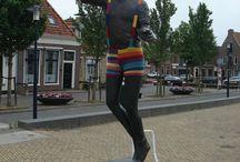 Funny....Yarn bombing / by Lou Ann Brown