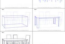 sketch step by step