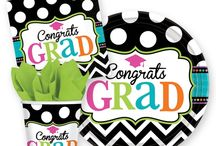 Celebrate their big achievement! / Say congratulations to the graduate with a big celebration! Themed party supplies will make the day extra special. / by SmileMakers