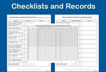 Common Core Checklists and Records