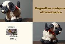 Cagnolino amigurumi / Tutorial per la realizzazione di un cagnolino amigurumi