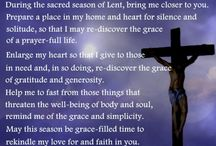 Lenten Season Prayers