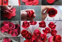 Virág készítés