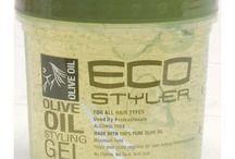 Eco Styler Hair Care / A popular hair care products brand Eco Styler.