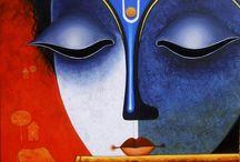 spiritual canvas art