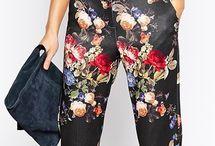 Λουλούδια παντελόνι