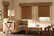 Design Studio Roman Shades / Design Studio™ Roman shades come in a variety of beautiful fabrics like cotton, silk and linen. Customize your Roman Shades with tapes, trims and complementary valances.