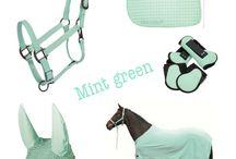 Mint green tack